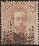 Sellos de Europa - España -  Amadeo I  1872  40 cents