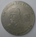 monedas de America - Ecuador -  2000 - 50 centavo