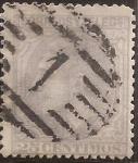 Sellos del Mundo : Europa : España : Alfonso XII  1879  25 cents