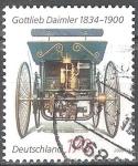 Sellos de Europa - Alemania -  175 aniversario de Gottlieb Daimler.