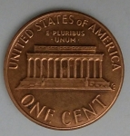 monedas de America - Estados Unidos -  1983 one cent