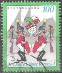 Sellos de Europa - Alemania -  175 años Carnaval de Colonia.