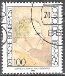 sellos de Europa - Alemania -  Centenario de nacimiento de Otto Dix (pintor).