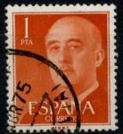 Stamps Spain -  ESPAÑA_SCOTT 825.03 GEN. FRANCO. $0,2
