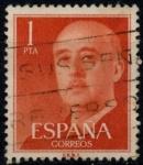 Stamps : Europe : Spain :  ESPAÑA_SCOTT 825.04 GEN. FRANCO. $0,2