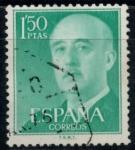 Sellos del Mundo : Europa : España : ESPAÑA_SCOTT 827.01 GEN. FRANCO. $0,2