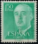 Sellos del Mundo : Europa : España : ESPAÑA_SCOTT 827.02 GEN. FRANCO. $0,2