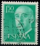 Stamps Spain -  ESPAÑA_SCOTT 827.03 GEN. FRANCO. $0,2