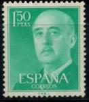 Sellos del Mundo : Europa : España : ESPAÑA_SCOTT 827.04 GEN. FRANCO. $0,2