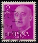 Sellos del Mundo : Europa : España : ESPAÑA_SCOTT 830.01 GEN. FRANCO. $0,2