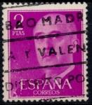 Sellos del Mundo : Europa : España : ESPAÑA_SCOTT 830.02 GEN. FRANCO. $0,2