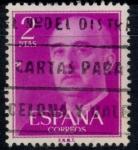 Sellos del Mundo : Europa : España : ESPAÑA_SCOTT 830.04 GEN. FRANCO. $0,2