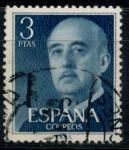 Sellos del Mundo : Europa : España : ESPAÑA_SCOTT 831.02 GEN. FRANCO. $0,2
