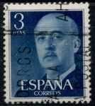 Sellos del Mundo : Europa : España : ESPAÑA_SCOTT 831.03 GEN. FRANCO. $0,2