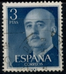 Stamps : Europe : Spain :  ESPAÑA_SCOTT 831.04 GEN. FRANCO. $0,2