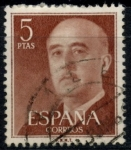Stamps : Europe : Spain :  ESPAÑA_SCOTT 832.01 GEN. FRANCO. $0,2