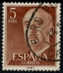 Stamps : Europe : Spain :  ESPAÑA_SCOTT 832.02 GEN. FRANCO. $0,2
