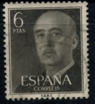 Stamps : Europe : Spain :  ESPAÑA_SCOTT 833.01 GEN. FRANCO. $0,2