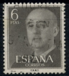 Stamps : Europe : Spain :  ESPAÑA_SCOTT 833.02 GEN. FRANCO. $0,2