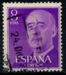 Stamps : Europe : Spain :  ESPAÑA_SCOTT 834.01 GEN. FRANCO. $0,2