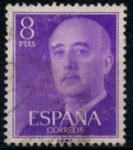 Stamps : Europe : Spain :  ESPAÑA_SCOTT 834.02 GEN. FRANCO. $0,2