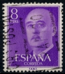 Stamps : Europe : Spain :  ESPAÑA_SCOTT 834.03 GEN. FRANCO. $0,2