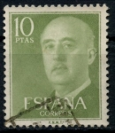 Stamps : Europe : Spain :  ESPAÑA_SCOTT 835.03 GEN. FRANCO. $0,2
