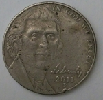 monedas de America - Estados Unidos -  2011 -five cents