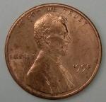 monedas de America - Estados Unidos -  1990 one cent
