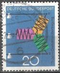 Sellos de Europa - Alemania -  75 años de transmisión de CA, RST.