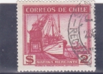 Stamps : America : Chile :  Marina Mercante