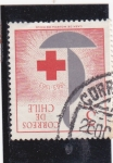 Sellos de America - Chile -  100 años >Cruz Roja