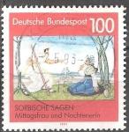 Sellos de Europa - Alemania -   Leyendas sorbias.