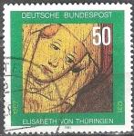 sellos de Europa - Alemania -  750a muerte Anniv. De Elisabeth de Turingia.