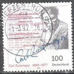 Sellos de Europa - Alemania -  Centenario del nacimiento de Carl Zuckmayer(dramaturgo).