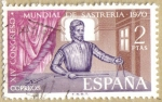 Sellos de Europa - España -  XIV Congreso Mundial de Sastreria