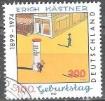 Sellos de Europa - Alemania -  Centenario del nacimiento de Erich Kastner,(Escritor).