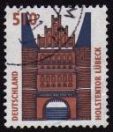 Stamps Germany -  COL-HOLSTENTOR (LÜBEK)