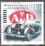 Sellos del Mundo : Europa : Alemania :  100 años Automóvil Club de Alemania,(AVD).