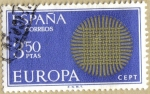 Stamps Spain -  EUROPA - CEPT 11º serie