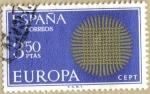 sellos de Europa - España -  EUROPA - CEPT 11º serie