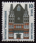 Stamps Germany -  COL-RATHAUS WERNINGEROD