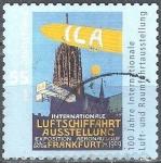 Sellos de Europa - Alemania -  100 años Exposición Aeroespacial Internacional (ILA).