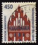 Stamps Germany -  COL-NEUES TOR NEUBRANDENBURG