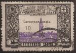 Stamps : Europe : Spain :  Falange Española Tradicionalista y de las JONS. Tánger  1938  Asistencia Social 10 cts