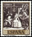 Sellos del Mundo : Europa : España : ESPAÑA SEGUNDO CENTENARIO NUEVO Nº 1241 ** 60C CASTAÑO OSCURO VELAZQUEZ