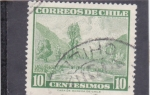 Stamps : America : Chile :  valle del río Maule