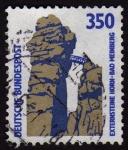 Stamps Germany -  COL-EXTERNSTEINE HORN-BAD MEINBERG