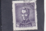 Stamps : America : Chile :  F.A.Pinto- Militar