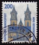 Stamps Germany -  COL-MAGDERBURGER DOM